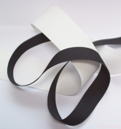 25mmBunting-Flagtape-Black