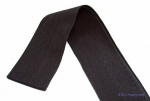 38mm Black 100% cotton twill tape
