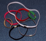 6 cord 5mm elastic rings  XS (small) 100 pack