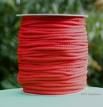B424B Red 6mm Polypropylene cord 100m reel