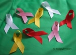 CLEARANCE: CHARITY RIBBONS