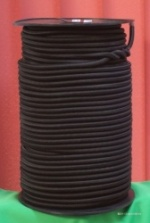 8mm Round elastic shock cord, 25m pack