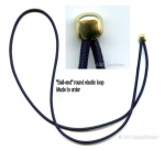 2mm round elastic ''Ball-end'' loop