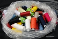 Standard m120 Spun-polyester sewing thread 50x1000y cops(Assorted Colours)