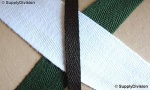 10mm Poly/Acrylic Twill webbing 250m