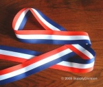 National Stripe RWB Ribbon