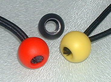 Elasticated ball ends