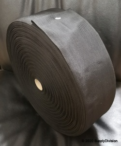 100mm Plain weave Polypropylene webbing