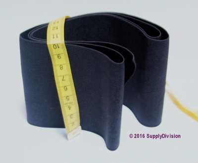 100mm wide Woven elastic