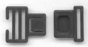 25mm Front release buckle