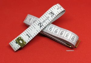 Fibreglass Tape-measure, (White) 150cm/60''
