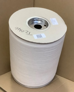 19mm Plain Weave Unbleached 100% cotton tape-BSD79BUK