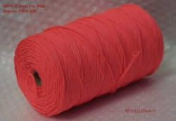 VKPC 2.5mm Flo Pink 250m reel