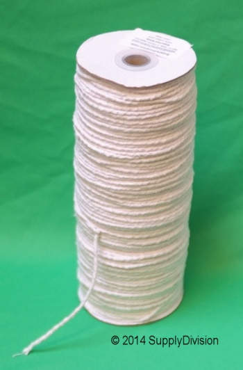 2.75mm White Cotton cord 250m reel