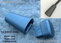 Article:CLCECAPEND106 Plastic ''Triangular'' capped cord end