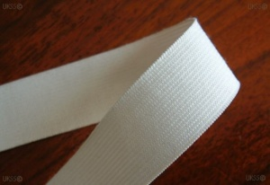 19mm Knitted elastic CT White-1300M lapfolded