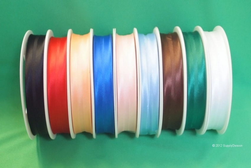 19mm Satin Bias Binding 25m roll