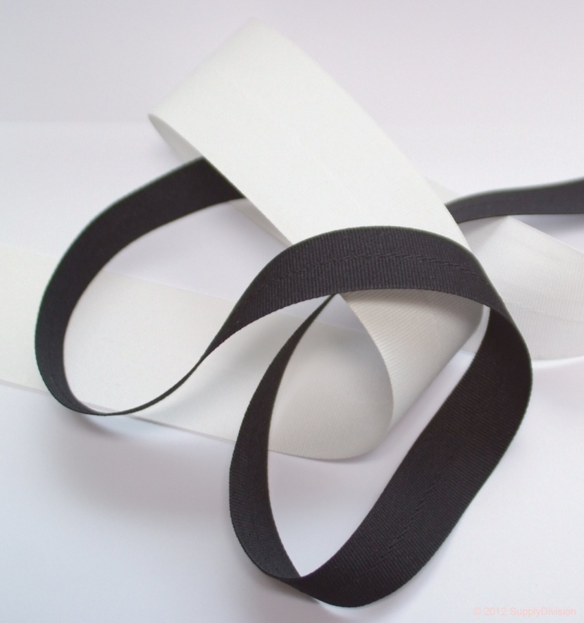 25mm Bunting/Flagtape, Black 100m