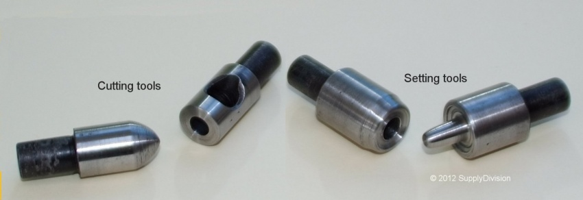 KPR1 dies for 500 and 700 series eyelets