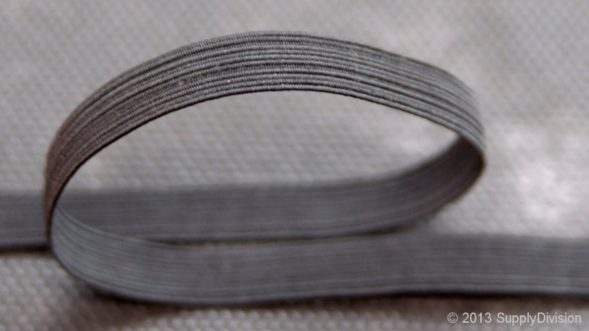 12 cord, 10mm(Apprx) CT-Black elastic, 150m reel.