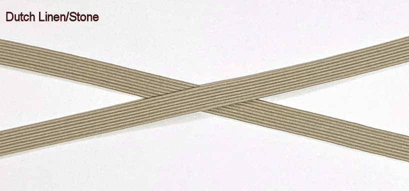 6mm(approx) flat elastic, SD932 Stone