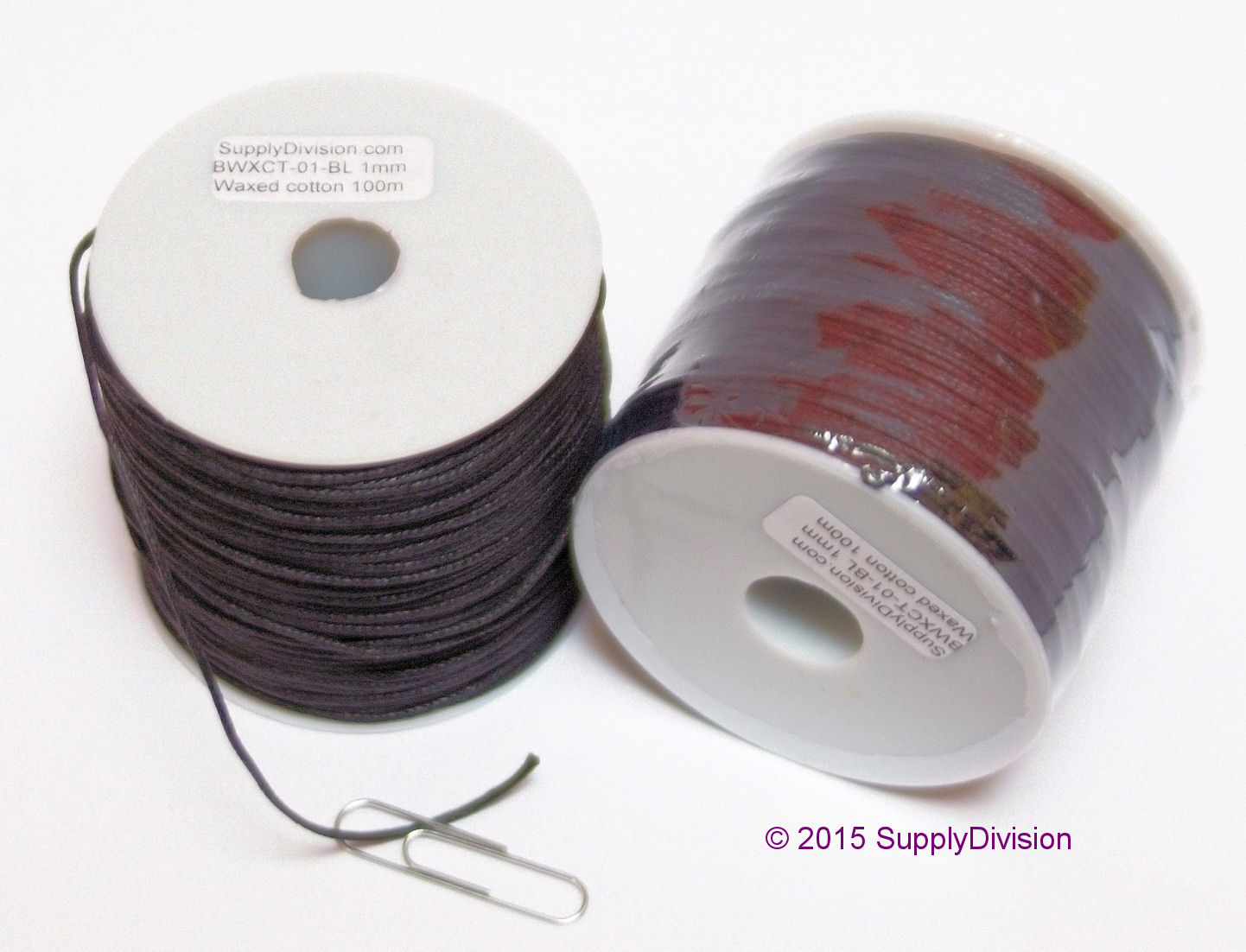 1mm Waxed cotton SDWXCT-01-100m