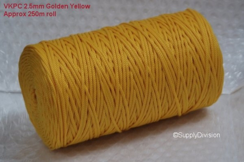 VKPC 2.5mm Golden Yellow 250m reel