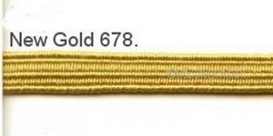 New Gold 5mm elastic, 100m