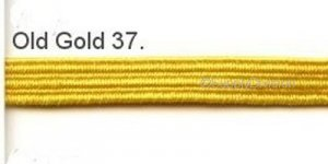 Old Gold 5mm elastic, 100m