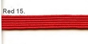 Red 5mm elastic, 100m
