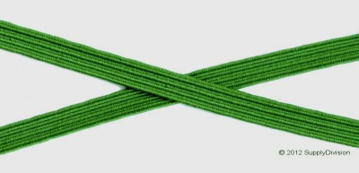 6mm Emerald Green Elastic