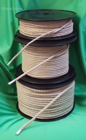 10mm Synthetic Hemp 3 strand rope 100m