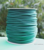 B424B ForestGreen6mm Polypropylene cord 100m