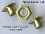 5mm Hexagonal eyelet, 1000