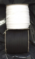 6mm Plain Weave cotton tape 250m