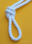 4.1mm White Cotton cord 50m reel