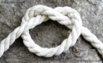 12mm UNBLEACHED Cotton cord 25m reel