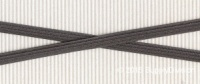 6mm(approx) flat elastic, Grey, 250m.