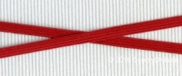 6mm(approx) flat elastic, Red.