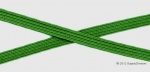 6mm (approx) flat elastic, Emerald green.