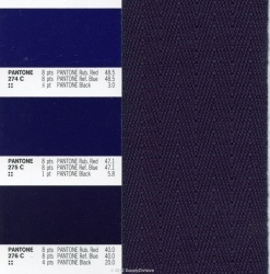 38mm Poly/Acrylic Twill webbing-COLOURS